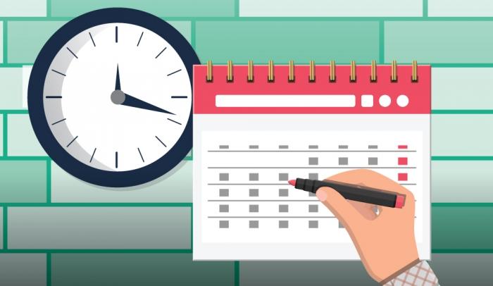 Οργάνωση χρόνου για υλοποίηση συγγραφής εργασίας
