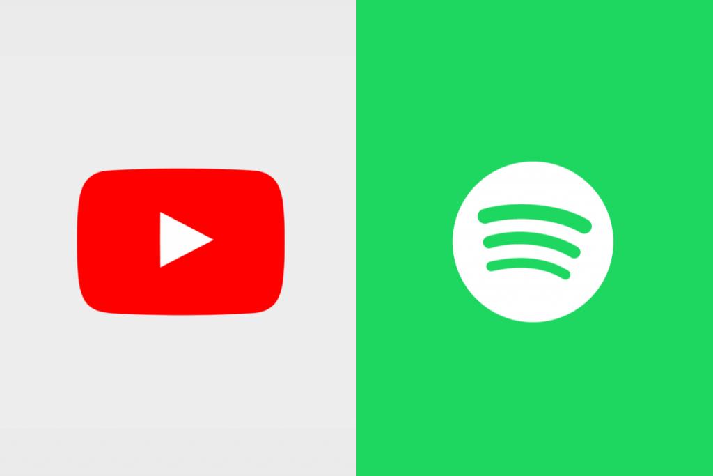 YouTube και Spotify φοιτητική έκπτωση